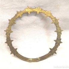 Antigüedades: CORONA PARA IMAGEN AÑOS 40. MED. 8 CM DIAMETRO. Lote 292953383