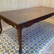 Antigüedades: GRAN MESA DE COMEDOR. Lote 293154688