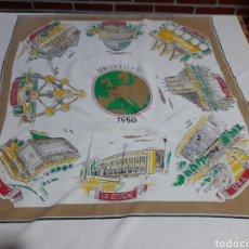 Antigüedades: PAÑUELO CONMEMORATIVO. Lote 293265123