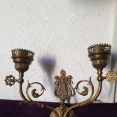 Antigüedades: ANTIGUO APLIQUE LUZ. Lote 293517713