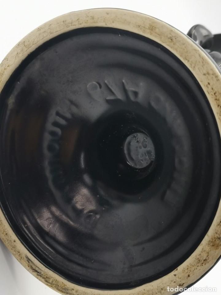 Antigüedades: Magnífico jarrón de cerámica Dartmouth England. 23 cm. - Foto 21 - 293541443