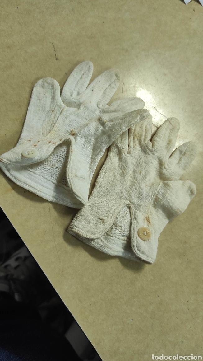 Antigüedades: antiguos guantes muy pequeños - Foto 3 - 293572038