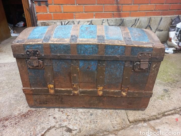 BSUL ANTIGUO PARA RESTAURAR (Antigüedades - Muebles Antiguos - Baúles Antiguos)