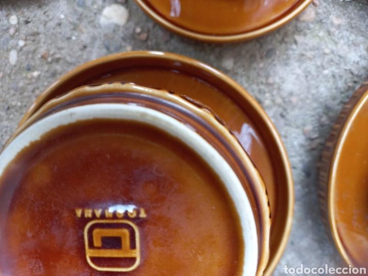 Antigüedades: Juego de tazas de cafe y chocolate de porcelana italiana - Foto 2 - 293595918