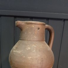 Oggetti Antichi: CERÁMICA POPULAR CATALANA AGUA MANIL JARRA. Lote 293781013