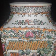 Antigüedades: JARRON CHINO FAMILIA ROSA SXIX. Lote 293813888