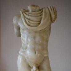 Antigüedades: TORSO DE MÁRMOL. Lote 293821808