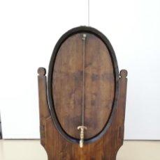 Antigüedades: PRECIOSO TONEL DE VINO ANTIGUO CON MEDIDA DE LÍQUIDO INCLUIDA. Lote 293851298