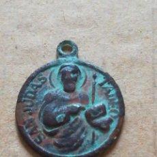 Antigüedades: ANTIGUO COLGANTE SAN JUDAS TADEO. Lote 293869778