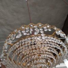 Antigüedades: LÁMPARA VINTAGE 40 CM DE DIÁMETRO APROX. Lote 293894883