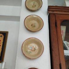 Antigüedades: PLATOS LA BISBAL CATALUÑA.. Lote 293899193