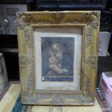 Antigüedades: ANTIGUO MARCO DORADO TALLADO. Lote 293920648