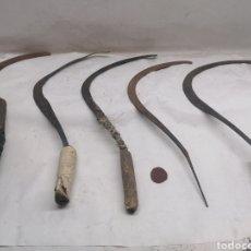 Antigüedades: LOTE HOCES. Lote 293933508