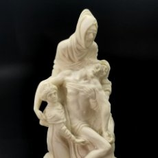 Antiguidades: PRECIOSA REPRODUCCIÓN SELLADA DE LA PIEDAD, MIGUEL ANGEL. 18 CM.. Lote 293991393