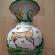 Antigüedades: JARRON DE CERAMICA RUIZ DE LUNA DE TALAVERA. VER DESCRIPCIÓN. Lote 294063523