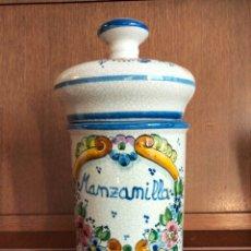 Antigüedades: ALBARELO DE FARMACIA CERÁMICA VIDRIADA. Lote 294070243