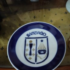 Antigüedades: PLATO DE O CASTRO SANTIAGO 12 CM. Lote 294075973