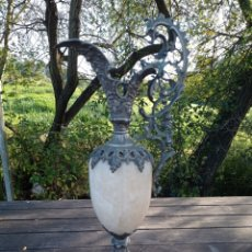 Antigüedades: ANTIGUA ANFORA BRONCE PARA RESTAURAR. Lote 294081298