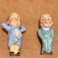 Antigüedades: PAREJA DE PERSONAJES DE BISCUIT. Lote 294114248