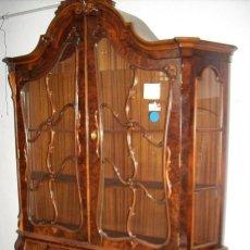 Antigüedades: GRAN VITRINA ESTILO LUIS XV , VER FOTOS....Y DESCRIPCIÓN.... Lote 294129413