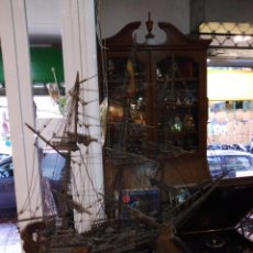 Antigüedades: MAQUETA DE BARCO ANTIGUA. Lote 294147993
