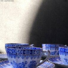 Antigüedades: TAZAS DE CAFÉ ANTIGUAS SANTA CLARA. Lote 294168948