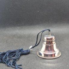 Antigüedades: CAMPAÑA DE PLATA DE LEY CONTRASTADA. Lote 294387393