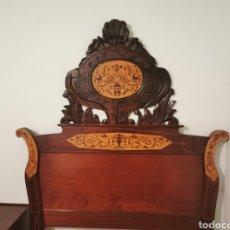 Antigüedades: DORMITORIO ESTILO ISABELINO. Lote 294489858