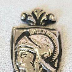 Antigüedades: ANTIGUO Y LINDISIMO SEÑALADOR DE LIBROS EN PLATA 800 CONFIGURA DE GLADIADOR O SOLDADO. Lote 294506998