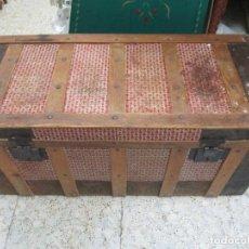 Antigüedades: BAUL ANTIGUO. Lote 294572673