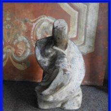 Antigüedades: MATERNIDAD MUY BONITA DE TERRACOTA. Lote 294596803