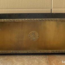 Antigüedades: PRECIOSA JARDINERA DE BRONCE O LATÓN DE LOS AÑOS 60 - 80 CM.. Lote 294807068