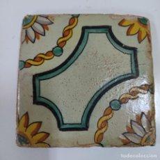 Antigüedades: BALDOSA/ AZULEJO S.XVIII (5374/21). Lote 294822348