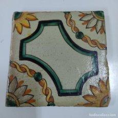 Antigüedades: BALDOSA/ AZULEJO S.XVIII (5375/21). Lote 294822608