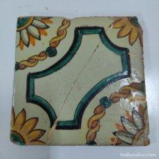 Antigüedades: BALDOSA/ AZULEJO S.XVIII (5377/21). Lote 294822793