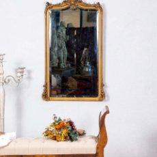 Antigüedades: ESPEJO ISABELINO SIGLO XIX. Lote 294862943