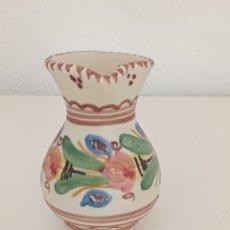 Antigüedades: JARRA DE CERÁMICA MATE. PUENTE DEL ARZOBISPO. 10CM ALTURA. Lote 295046148