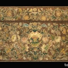 Antigüedades: EXCEPCIONAL FRENTE DE ALTAR, ITALIANO, S. XVI-XVII. Lote 295334033