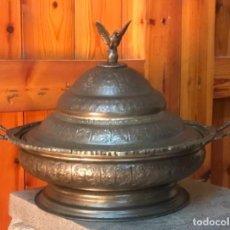 Antigüedades: GRAN SOPERA TURCA O CENTRO DE MEDIADOS SIGLO XX.. Lote 295419313