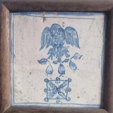 Antigüedades: AZULEJO CERÁMICA NAVARRA TERUEL ARANGO ESA. Lote 295437173