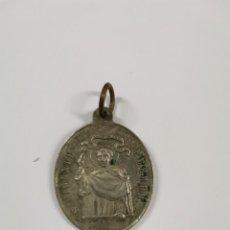 Antigüedades: M-1802. MEDALLA SAN VICENTE FERRER, IGLESIA DEL PILAR, VALENCIA.FINALES S.XIX.. Lote 295487313