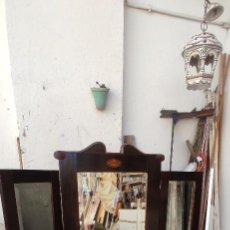 Antigüedades: ESPEJO TRIPTICO. Lote 295489073