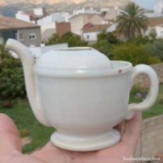 Antigüedades: PISTERO DE CERAMICA, ALCORA?, TIERRA DE PIPA, 203GR. Lote 295490288