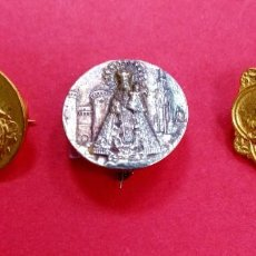 Antigüedades: COLECCIÓN ALFILERES BROCHES ANTIGUOS VIRGEN DE LOS DESAMPARADOS. VALENCIA.. Lote 295508328