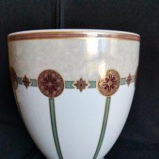 Antigüedades: JARRÓN PORCELANA ALEMANA KAISER. Lote 295510928