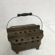Antigüedades: BRASERO DE CHAPA!. Lote 295550433