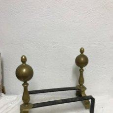 Antigüedades: LEÑERO O MURILLOS PARA CHIMENEA, SOPORTE TRONCOS!. Lote 295551738