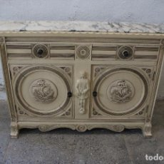 Antigüedades: MUEBLE DE ENTRADA CONSOLA CRISTOBAL COLON. Lote 295554933