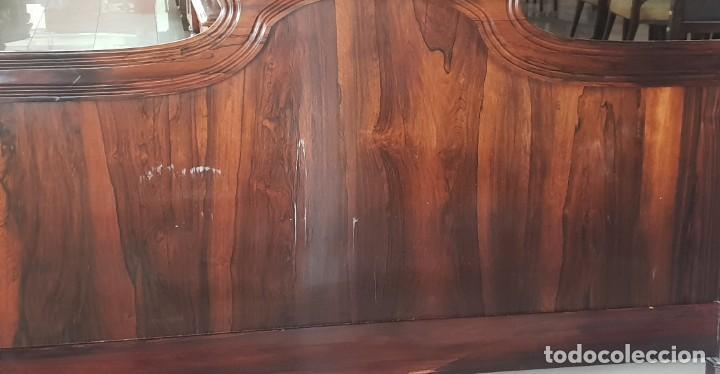 Antigüedades: Gran cabecero en madera de Palo Santo - Foto 3 - 202402536