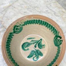 Antigüedades: LEBRILLO DE FAJALAUZA, SIGLO XIX 42 CM DIÁMETRO. Lote 295622668